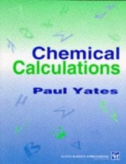 Cover of: Chemical calculations