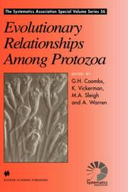 Cover of: Evolutionary Relationships Among Protozoa (The Systematics Association Special Volume Series) |