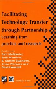 Cover of: Facilitating technology transfer through partnership