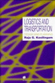 Cover of: Logistics and Transportation - Design and Planning
