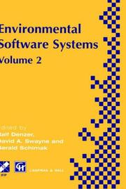 Cover of: Environmental Software Systems