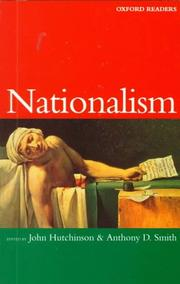 Cover of: Nationalism