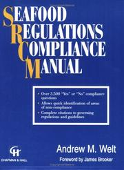 Cover of: Seafood regulations compliance manual