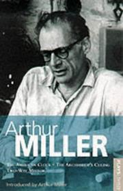 Cover of: Miller Plays (World Classics)