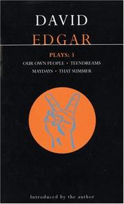 Cover of: Edgar Plays 3