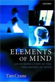 Cover of: Elements of Mind
