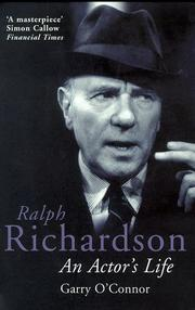 Cover of: Ralph Richardson (Methuenbiography)