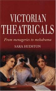 Cover of: Victorian theatricals |