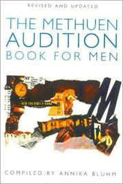 Cover of: Methuen audition book for men |