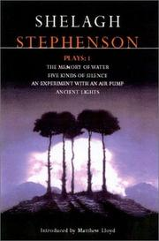Cover of: Stephenson Plays 1 (Contemporary Dramatists) | Shelagh Stephenson
