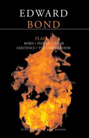 Cover of: Edward Bond Plays
