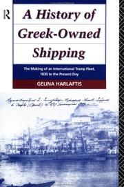 Cover of: A history of Greek-owned shipping