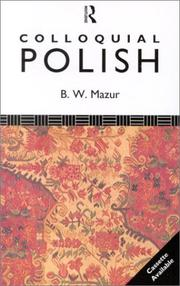 Cover of: Colloquial Polish (Colloquial Series) |