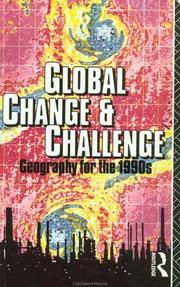 Cover of: Global Change and Challenge