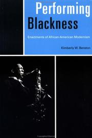 Cover of: Performing blackness