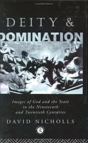 Cover of: Deity and domination