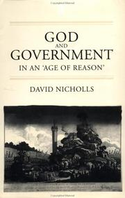 Cover of: God and government in an 'age of reason'