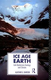Cover of: Ice Age earth