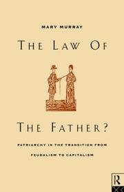 Cover of: The Law of the Father? | Mary Murray