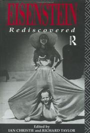 Cover of: Eisenstein Rediscovered