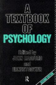 Cover of: A Textbook of Psychology | John Radford