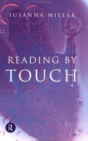 Cover of: Reading by touch