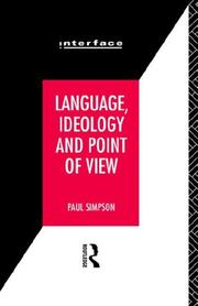 Cover of: Language, ideology, and point of view