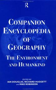 Cover of: Companion Encyclopedia of Geography