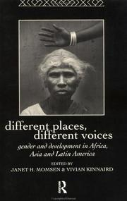 Cover of: Different places, different voices |