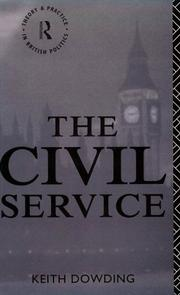 Cover of: The civil service