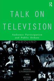 Cover of: Talk on Television | Son Livingstone