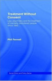 Cover of: Treatment without consent