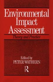 Cover of: Environmental Impact Assessment | Peter Wathern