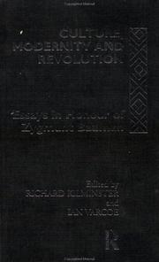 Cover of: Culture, Modernity and Revolution