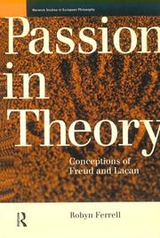 Cover of: Passion in theory