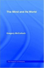 Cover of: The mind and its world