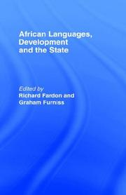 Cover of: African Languages | Richard Fardon
