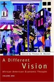 Cover of: A Different Vision