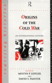 Cover of: The Origins of the Cold War