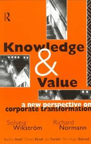 Cover of: Knowledge and Value | Solveig WikstrFom
