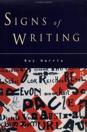 Cover of: Signs of writing