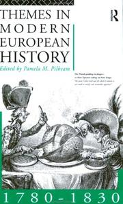 Cover of: Themes in Modern European History | Pam Philbeam