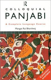 Cover of: Colloquial Panjabi