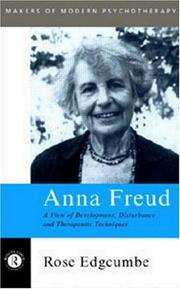 Cover of: Anna Freud