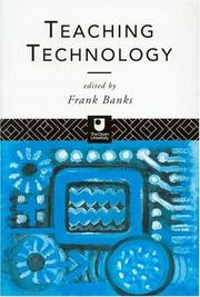Cover of: Teaching technology |