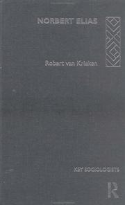 Cover of: Norbert Elias | Robert Van Krieken