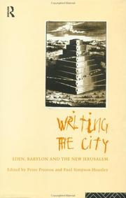 Cover of: Writing the City