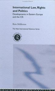 Cover of: International law, rights and politics