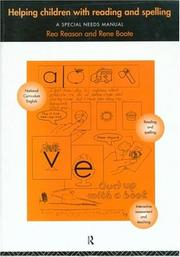 Cover of: Helping Children with Reading and Spelling