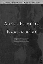 Cover of: Asia Pacific economies: a survey